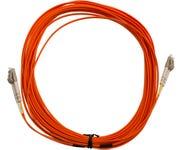 MSS Fibre LC - LC OM1 20 Metre Orange LSZH Duplex Patch Lead